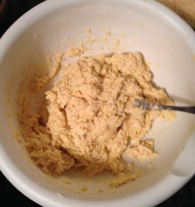 Photo 6. The finished dumpling dough.