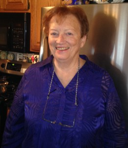 Photo 3. Ruth, a second generation German-American, photographed in Delores's house during our interview.